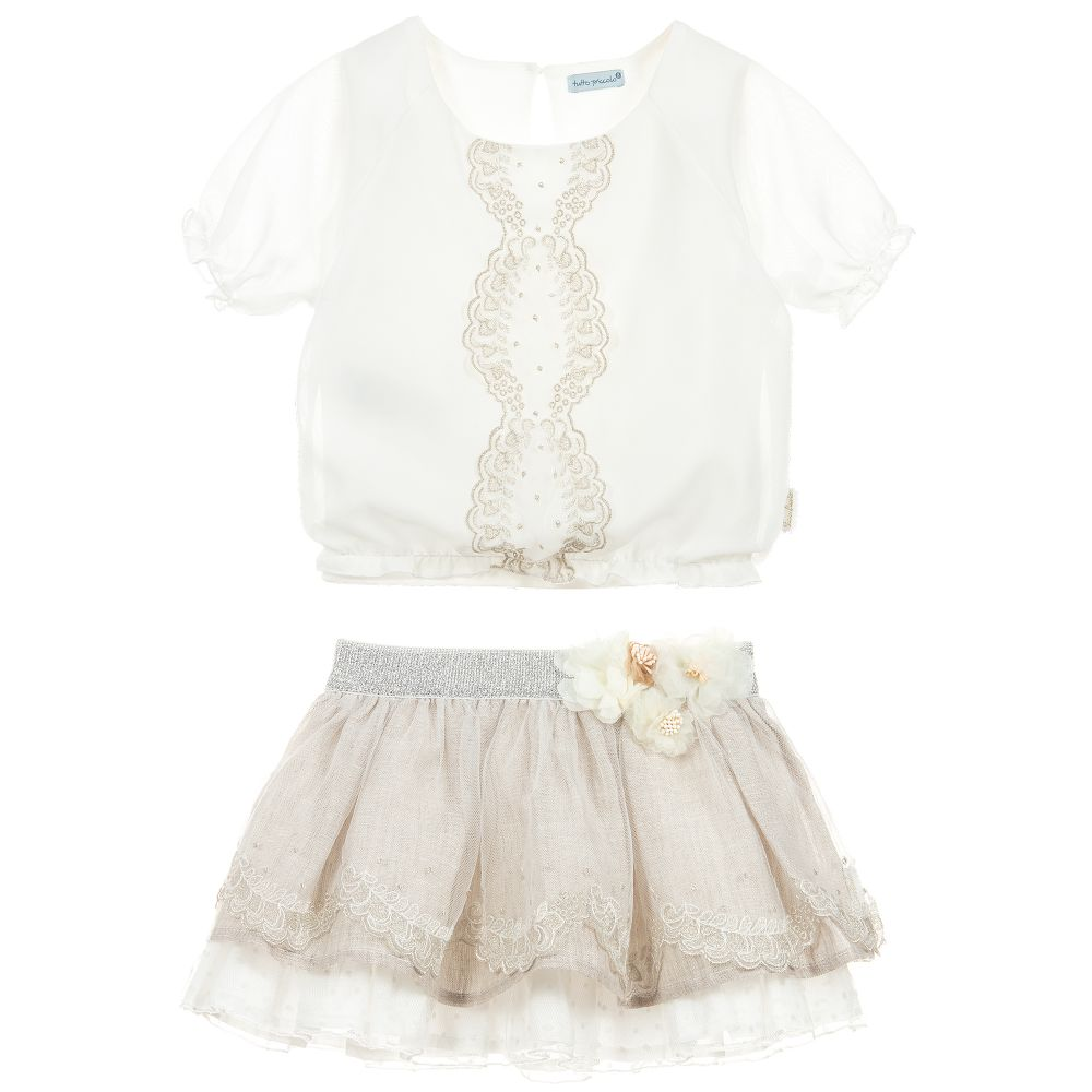 f2f91d4228 S19TP2 Tutto Piccolo White Top with Lace Detail – Buttoned Up ...